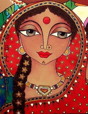 India-vrouw