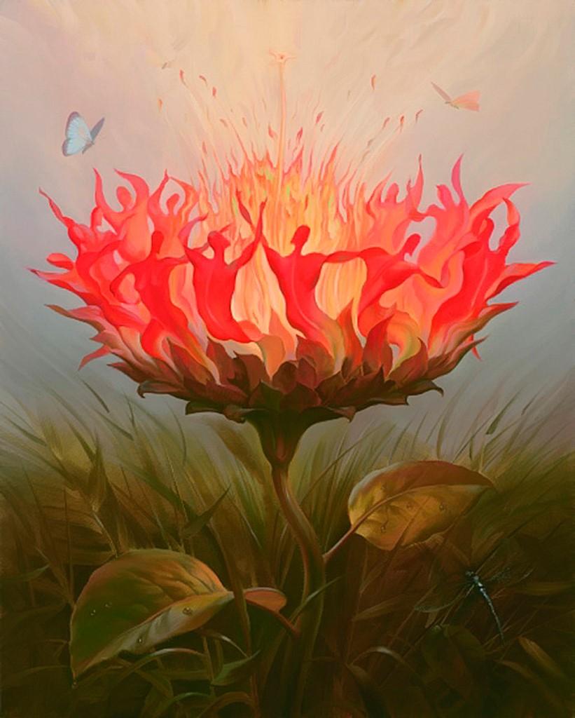 dancing-flower