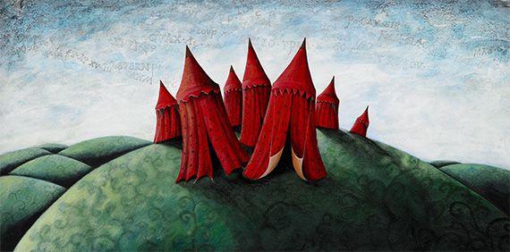 rode-tentjes